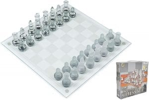 Play Kreative Glass Chess Game Set