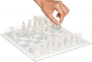 SRENTA 10 Fine-Glass Chess Game Set