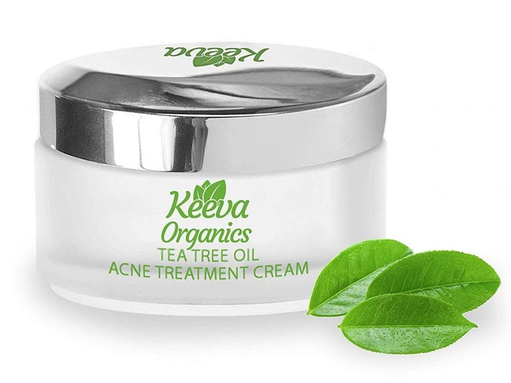 Keeva Organics Dry Skin Essential Oil Fight Acne Spot Cream