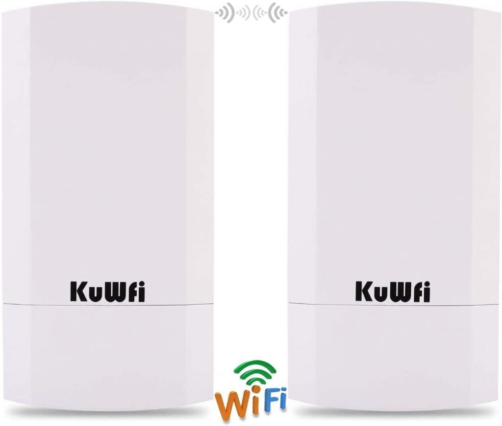 KuWFi Store CPE Kit Point to Point Distance Solution Wireless Wifi Extender