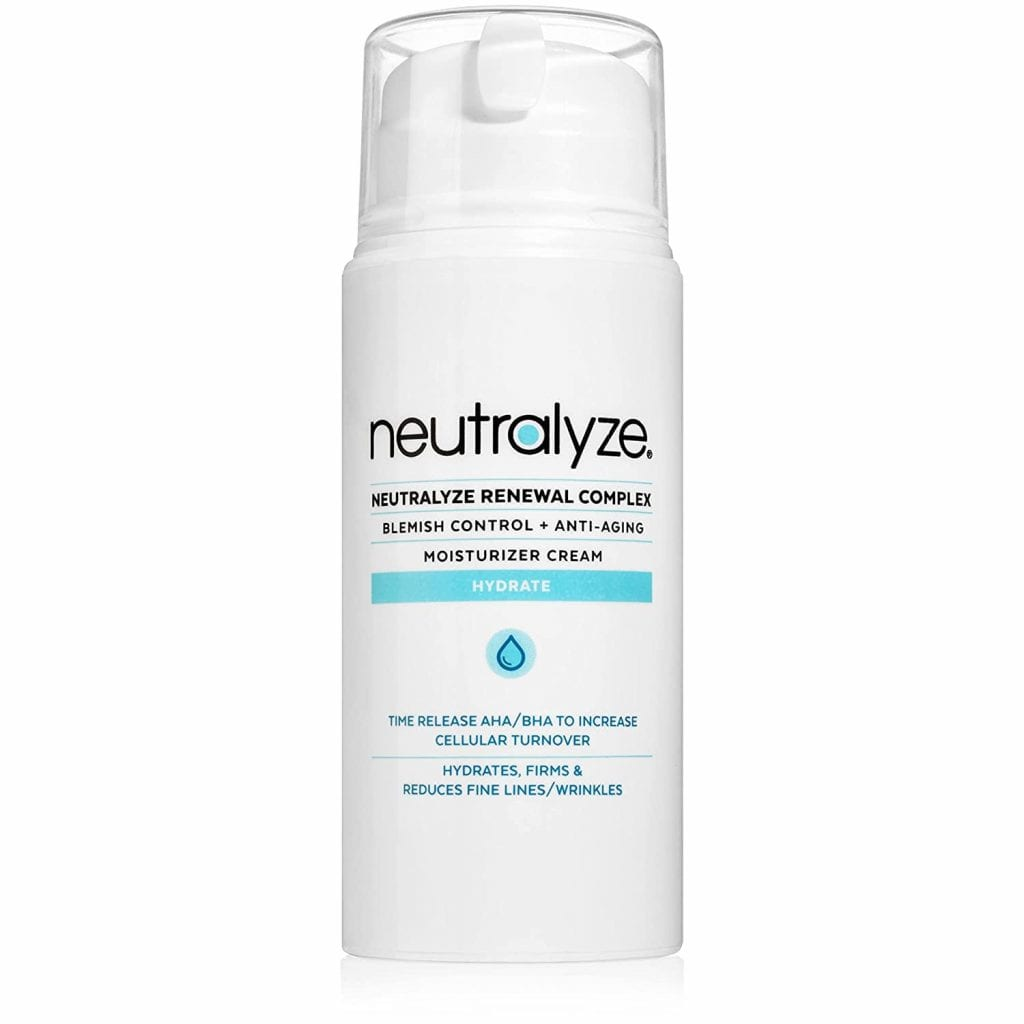 Neutralyze Boosting Nitrogen Strength Moisturising Acne Pimple Cream