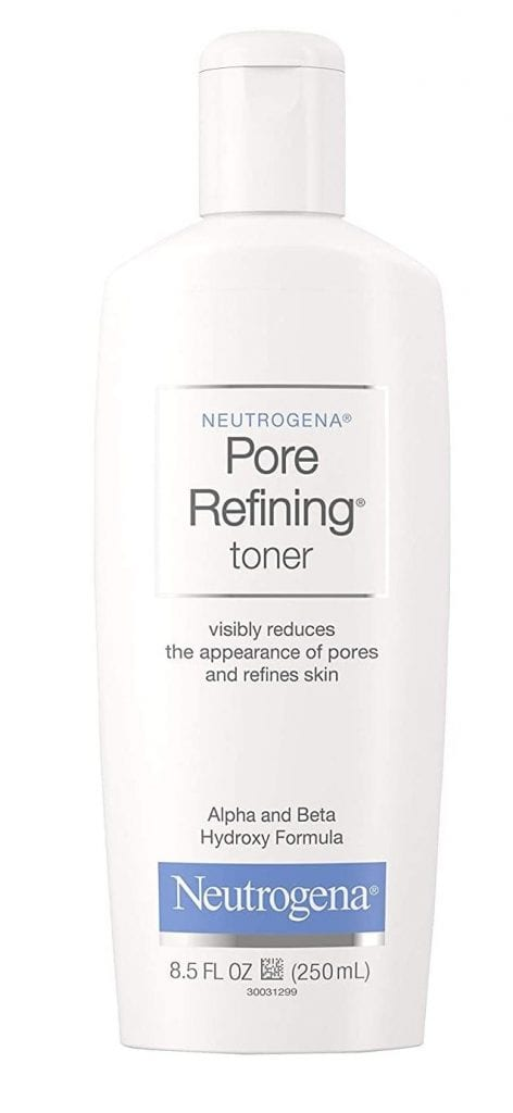 Neutrogena Redefining Witch Hazel, Hydroxy Acid Pore Cleanse Oil-Free Toner
