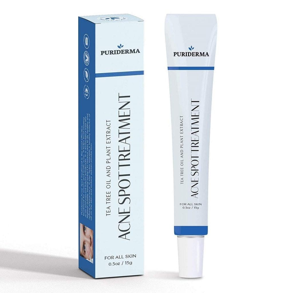 Puriderma Breakouts Vitamin E Acne/Cystic Acne Spot Treatment Cream