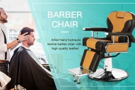 Reclining Barber Chair