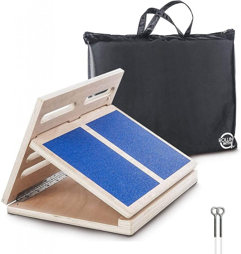 Rolling With It Professional Adjustable Wooden Incline Slant Board