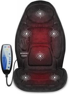 Snailax Memory Foam Massage Seat Cushion