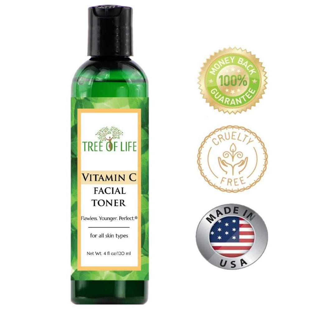 Tree Of Life Flawless Vitamin C Pore Reducing Rejuvenating Face Toner