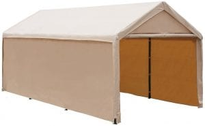 Abba Patio Extra Large Duty Carport Outdoor Storage Shelter