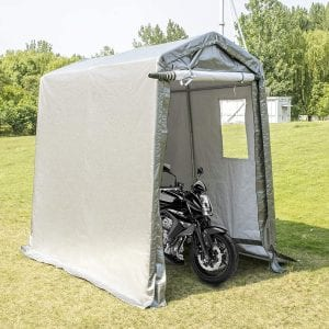 Happybuy Portable Outdoor Storage Shed