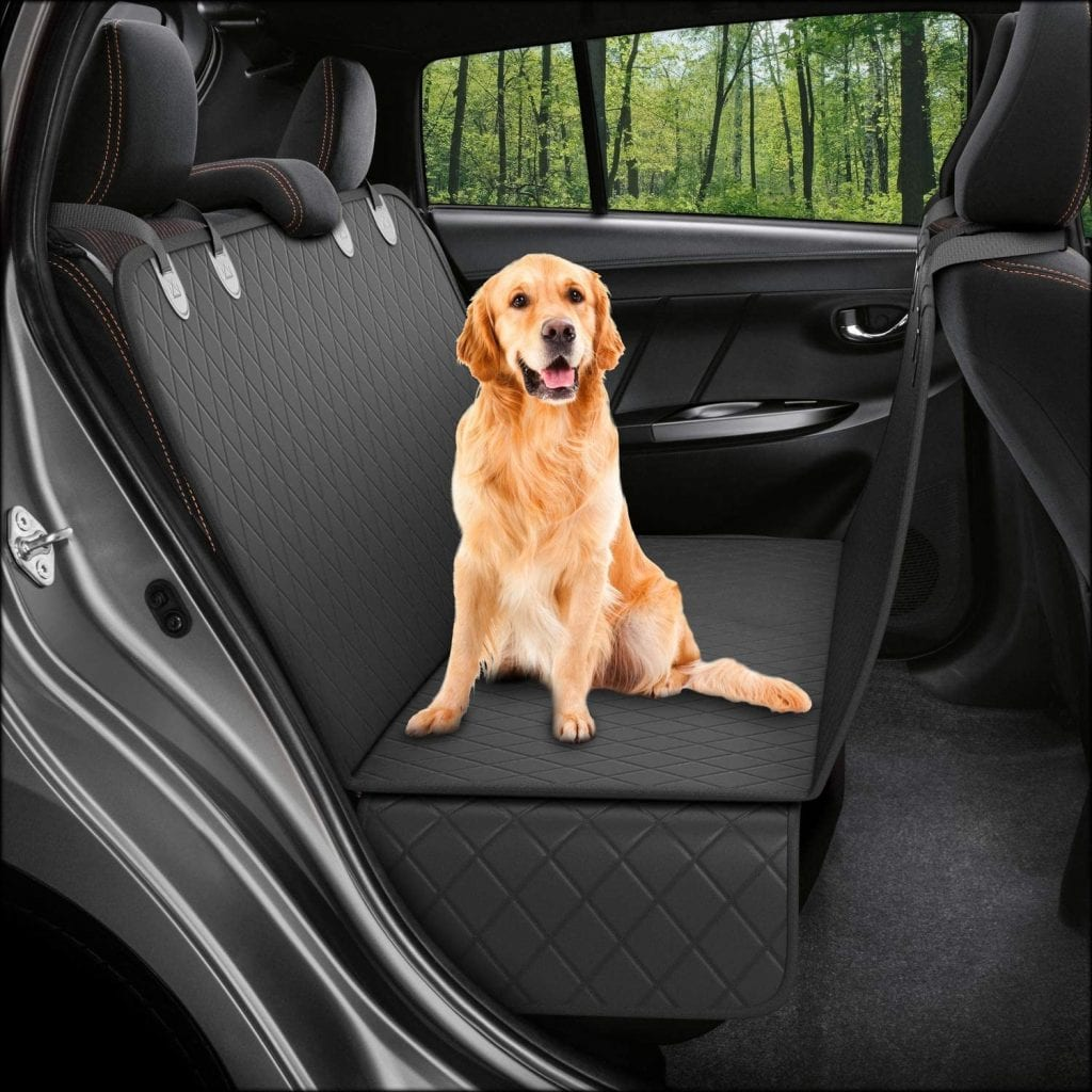 ACTIVE PETS Non-slip Hammock Dog Backseat Cover