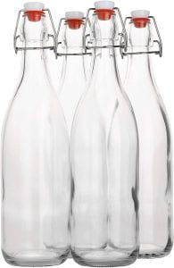 AYL Glass Milk Bottle 33 oz