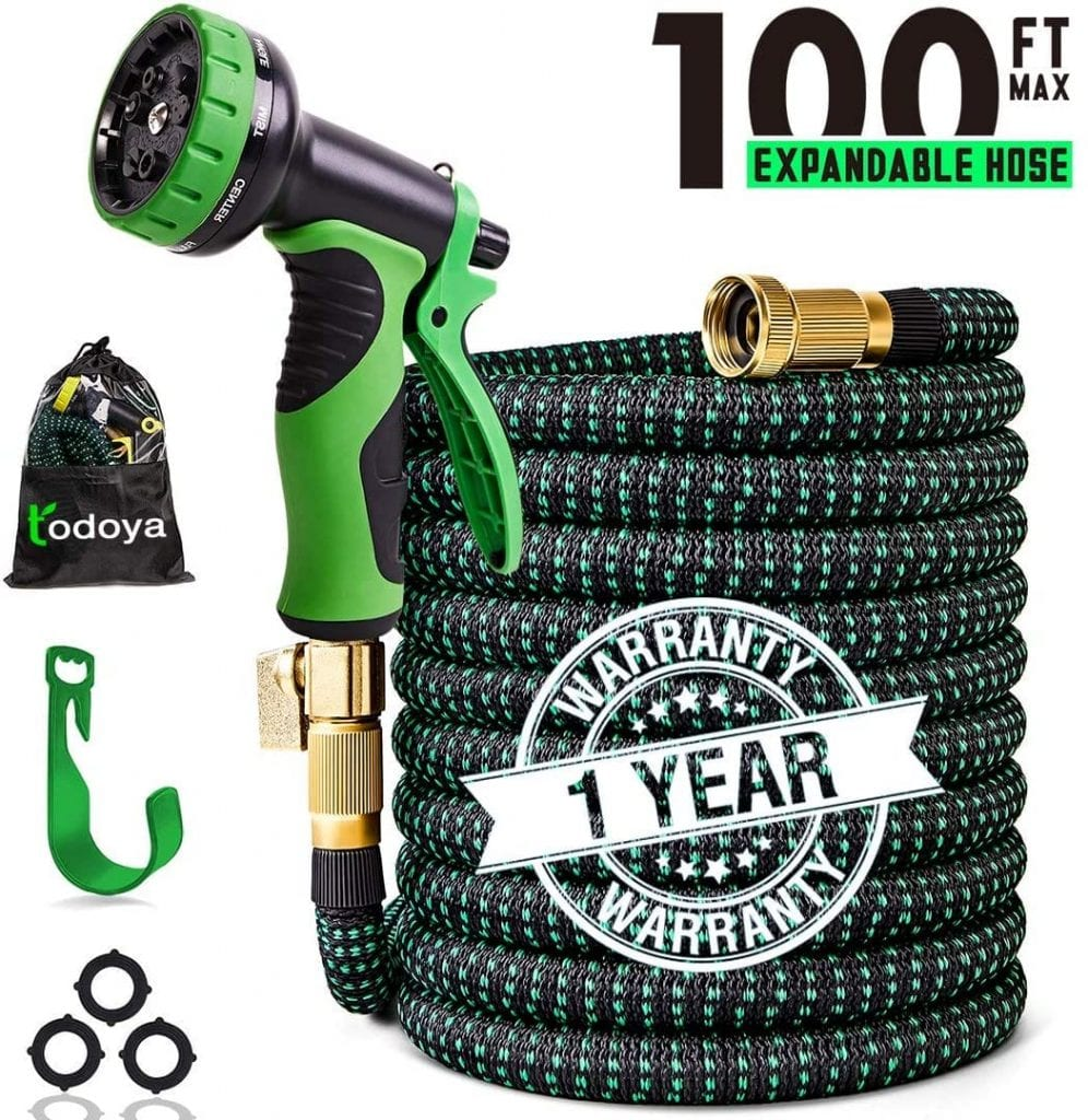 Todoya 100 ft Expandable Garden Hose