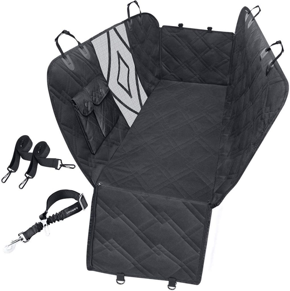 URPOWER Dog Seat Covers with Mesh Visual Window