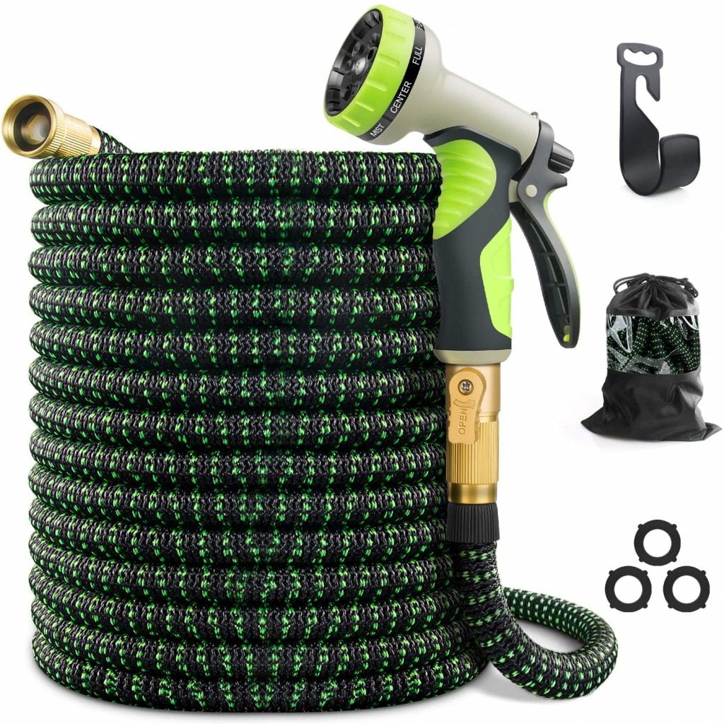 VIENECI 100 ft Expandable Garden Hose