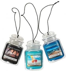 Visit The Yankee Candle Store 3 Pack Coconut Bahama Breeze Hanging Freshener