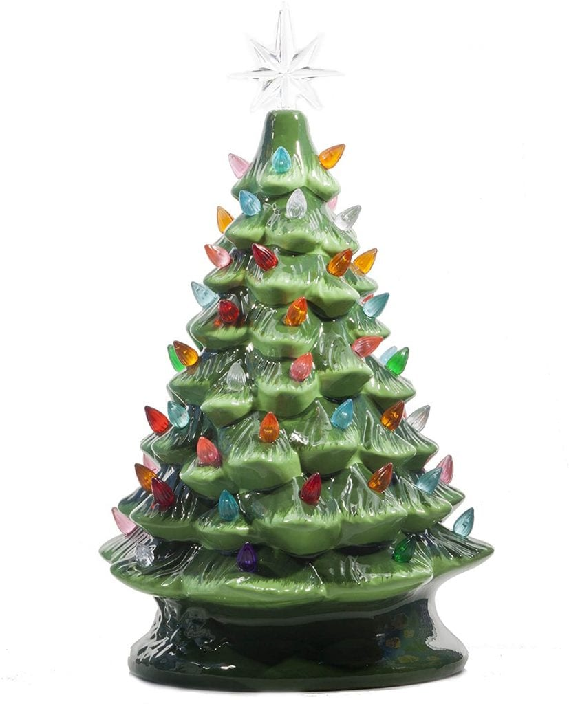 ReLIVE Ceramic Christmas Tree, 16 Inch